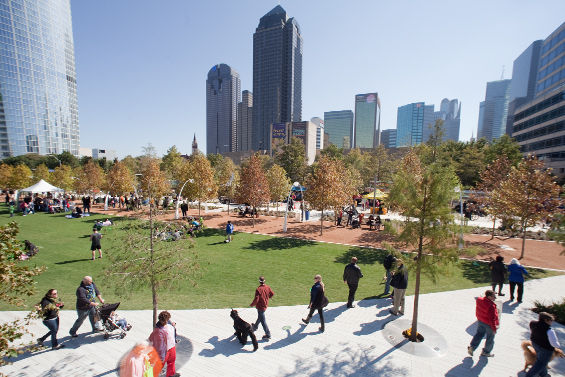 What     Spring Has Sprung    at the Park  Klyde Warren Park will host    Klyde Warren Park